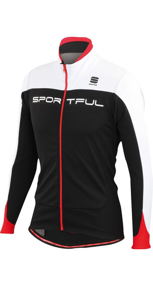Sportful Flash Softshell Jacket Men Black/White/Red